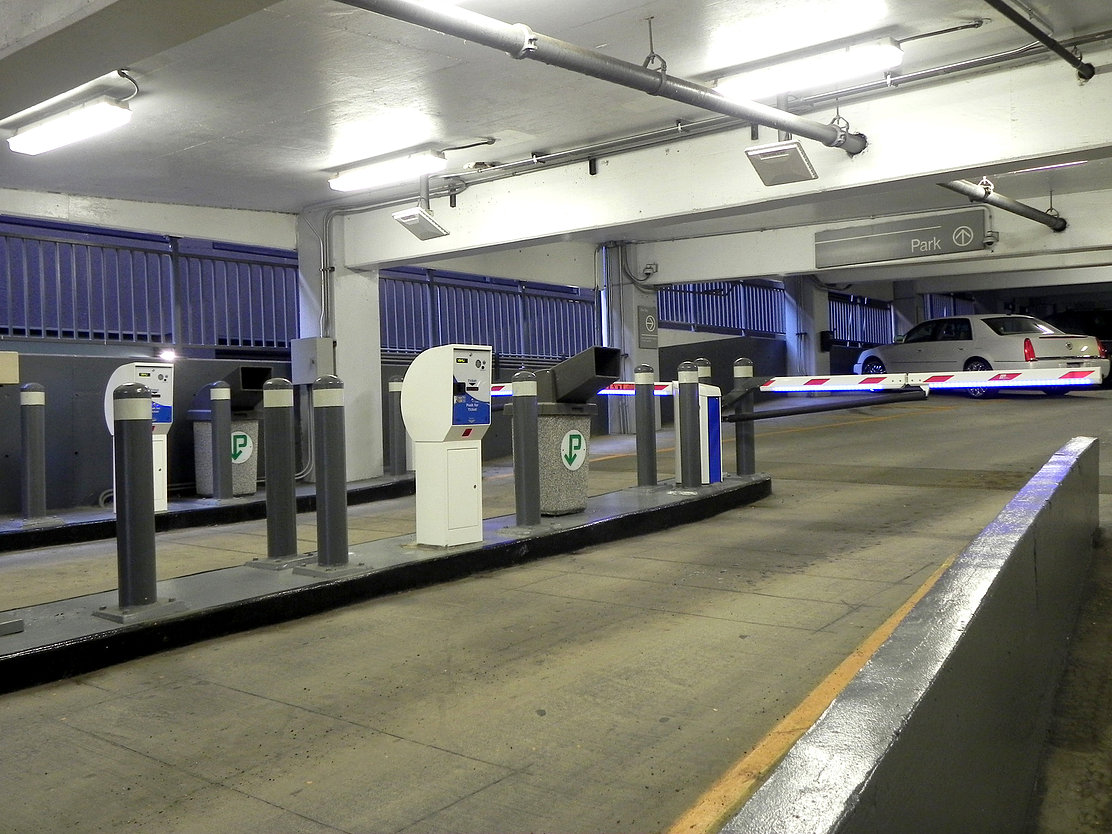 24hrs Network Paid Parking Garage Systems